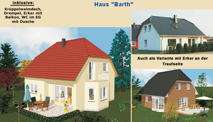lbb massivhaus einfamilienhaus bauen mecklenburg vorpommern typ barth. Black Bedroom Furniture Sets. Home Design Ideas