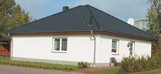 lbb massivhaus bungalow schl sselfertig bauen mecklenburg vorpommern typ niepars. Black Bedroom Furniture Sets. Home Design Ideas