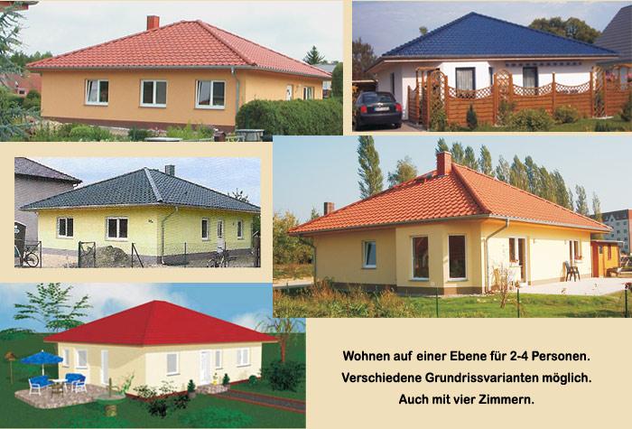 lbb massivhaus schl sselfertiger bungalow bauen mecklenburg vorpommern typ zarrendorf. Black Bedroom Furniture Sets. Home Design Ideas
